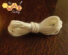 """Braided Cotton Candle Wick - 10 METRES - for use in 1.25"""" Candles - FREE POSTAGE"""