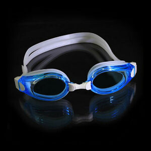 Water Sport Protect Outdoor PC UV Triathlon Anti-Fog Swimming Silicone Goggles