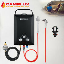 CAMPLUX Portable Gas Hot Water Heater 4.3L Water Pump LPG Hot Water System