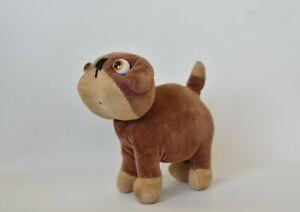 Antique Stuffed Velvet Farnell Dinkie Dog Glass Eyes