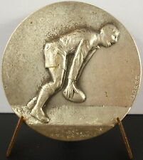 Médaille sport  collectif football rugby 1950 Medal