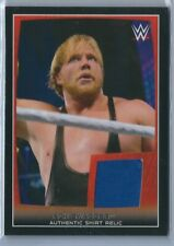 2015 Topps WWE Road to Wrestlemania Shirt Relic Jack Swagger AEW Jake Hager