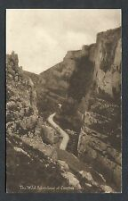 View of Cheddar Gorge - Stamp/Postmark - 1936