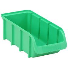 Profi Sichtbox PP Größe 2/L grün NEU 215x100x75 mm Sichtlagerbox Stapelbox Pro