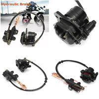 Motorbie Black Hydraulic Rear Disc Brake Caliper System For Quad Dirt Bike ATV