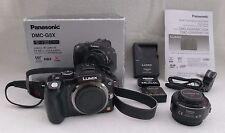 Panasonic DMC-G5X Avec 14-42 mm F3.5-5.6 ASPH Power Zoom Lens