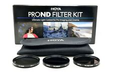 HOYA Pro ND Kit Filter 49, 52, 55, 58, 62, 67, 72, 77, 82mm ND8 ND64 ND1000 Etui