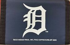MLB Nylon Tri-Fold Wallet, Detroit Tigers, NEW