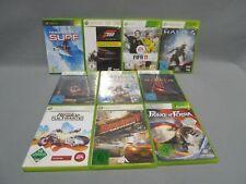 10 x XBOX 360 Spielesammlung - Action + Sport + Kampf - 10x XBOX 360 Spiele (10)
