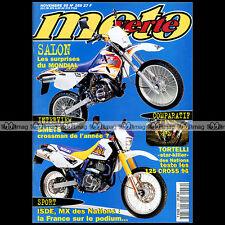MOTO VERTE N°259-b HONDA CR 250 M ELSINORE YAMAHA 125 YZ SUZUKI RM KTM SX 1995