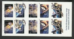 2007 BLAST OFF! - 50 YEARS IN SPACE Booklet, Mint Never Hinged