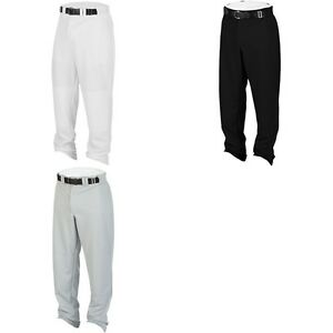 Rawlings Hemmed Relaxed Fit Open Bottom Youth Boy's Baseball Pants YBP31MR