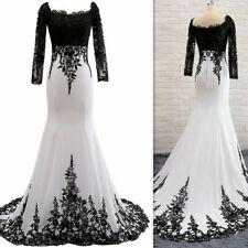 Trumpet/Mermaid Long Sleeve Court Train Chiffon Lace  Evening Dress