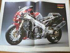A386- HONDA RC45 MOTORCYCLE POSTER RV750 WK SUPERBIKE MOTORRADRENNEN