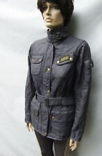 BARBOUR INTERNATIONAL Polar Quilt Jacket in grey Size S UK 10