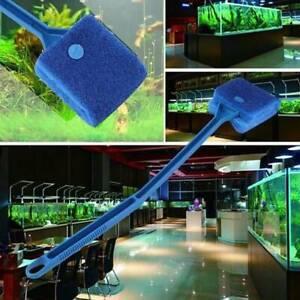 Fish Tank Aquarium Cleaning Glass Scraper Brush Algae Dust Cleaner Sponge Tool
