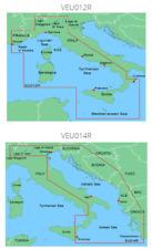 Garmin BlueChart G2 VEU012R-Mediterranean Sea e Central-West Mappa Nautica (010-C0770-00)