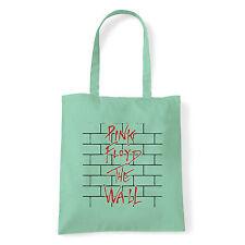 Art T-shirt, Borsa Pink Floyd The Wall, Menta, Shopper, Mare