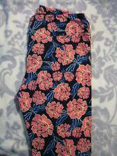 Lularoe Leggings Tc Floral Bnwot