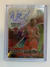 2019-20 Panini Spectra WENDELL CARTER JR. Catalysts Autograph /25 Chicago Bulls