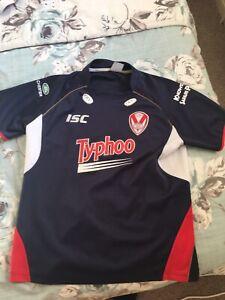 St helens rugby league shirt xl