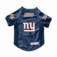 NEW YORK NY GIANTS DOG CAT DELUXE STRETCH JERSEY