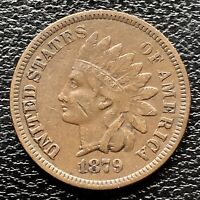 1879 Indian Head Cent One Penny 1c High Grade XF #20228