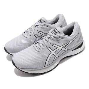 Asics Gel-Nimbus 22 Grey White Silver Men Running Shoes Sneakers 1011A680-102