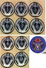 Stargate SG-1-10 Unit SGC Patch Set - SGCSET1-10