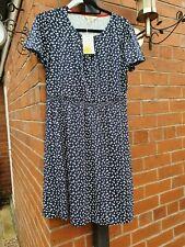 Boden Size 12 Petite Floral Jersey Day Dress JO469