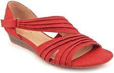 "0.5-1.5"" Low Heel Textile Sandals & Beach Shoes for Women"