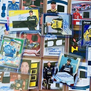 INSANE NASCAR LOT! ALL SP AUTOS & RACE USED RELICS! NATIONAL TREASURES, PRIME...