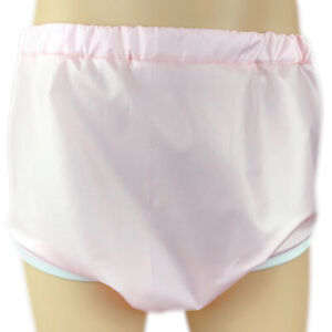 Cuddlz Pink Crinkle Pull Up Adult Sized Incontinence Pants Briefs