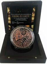 FUKANG Meteorite 2 oz silver coin high relief Niue 2018 LOW MINTAGE #15 of 666!!