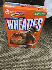 Vintage Muhammad Ali Wheaties Cereal Box Collectors New Unopened Box