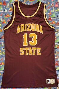 Authentic Rare Vintage Champion ASU Sun Devils Alton Mason Basketball Jersey