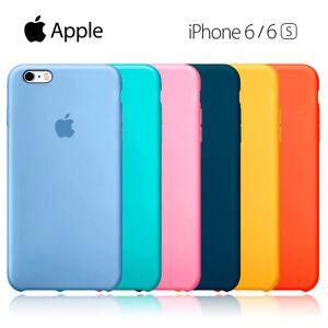 Funda silicona suave para iPhone 6/6S Apple Silicone case MKX32FE/A