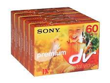 5 x Sony MiniDV videocamera Cassetta dvm60-Digital VHS dvm60pr3