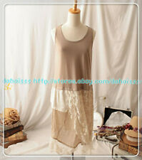 Sleeveless Vintage Sweet Lolita Kawaii Japanese Mori Girl Lace Vest Dress #X9