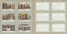 Liebig, Set 6 Cards, F1596, 1954, Francois Rebelais, France Writer
