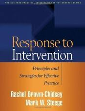 Response to Intervention : Principles and Strategies for Effective Practice...