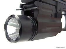 CREE Flashlight/light Torch for Pistol/Glock/Handgun Weaver/Picatinny Rail F10