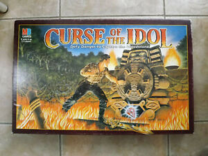 CURSE OF THE IDOL Board Game, MB Games 1990. SPARES