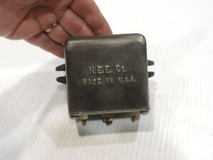 VINTAGE 1950's N.E.E. CO. GENERATOR REGULATOR / RELAY ? DODGE POWER WAGON ?