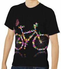 Markenlose Fahrrad-Plusgröße Herren-T-Shirts