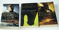Troy - David Gemmell - Complete Trilogy - Trade Paperback - Fall of Kings etc.