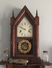 "VINTAGE/ ANTIQUE 31 Hour WORKING MOVEMENT BEAUTIFUL ""GOTHIC"" STEEPLE CLOCK  !"