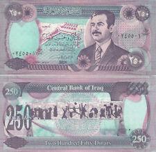 MULTI-VARIATION LISTING 12 denominations Saddam Hussein dinar banknotes Iraq UNC