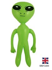 LARGE INFLATABLE ALIEN Blow Up Toy Inflate Halloween Party Decoration 64 cm UK