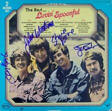 "The Lovin' Spoonful Autographed ""The Best.."" Album Signed PSA DNA COA"